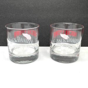 Jack Daniels No.7 Red Wings Hockey Town Glass Set